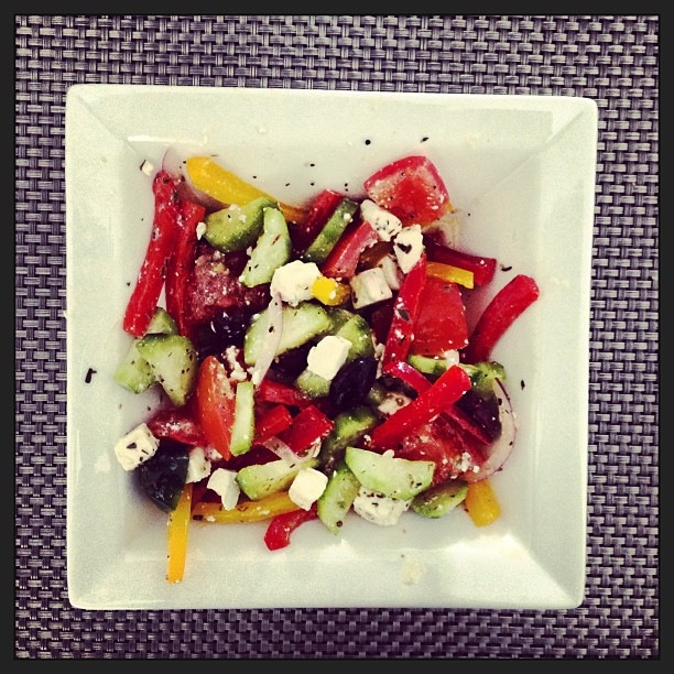 greek salad, health, weight loss